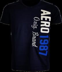 Camiseta Aéropostale Masculina Azul Marinho