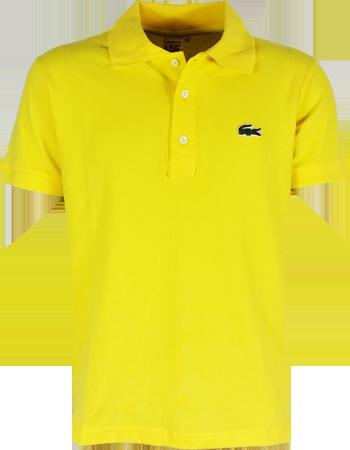 Camisa Polo Lacoste L!ve Masculina Amarela - ESTILUXO Outlet Virtual ... 9c73c10ce7