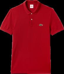 Camisa Polo Lacoste L!VE Masculina Vermelha