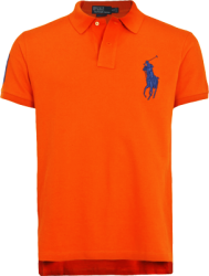 Camisa Polo Ralph Lauren Masculina Laranja - ESTILUXO Outlet Virtual ... ca5e367af7858