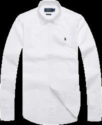 Camisa Social Polo Ralph Lauren Masculina Oxford Branca