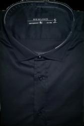Camisa Social Resumo Masculina Preta