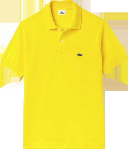 0cd6bfd6e8028 Camisa Polo Lacoste Masculina Amarela - ESTILUXO Outlet Virtual ...