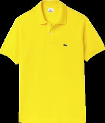 Camisa Polo Lacoste Masculina Amarela