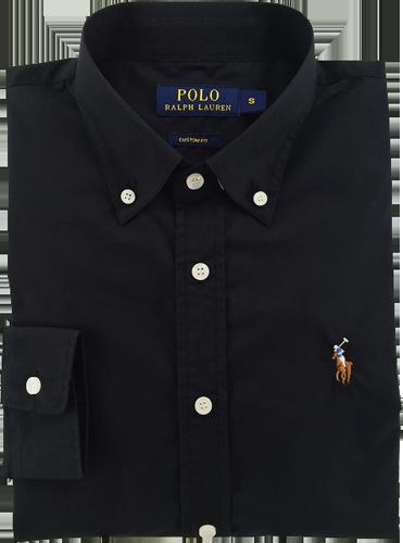 1e21d5e3d5472 Camisa Social Polo Ralph Lauren Masculina Oxford Preta