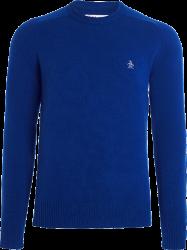 Blusa Suéter Penguin Masculina Azul