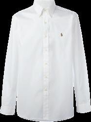 Camisa Social Polo Ralph Lauren Masculina Branca - ESTILUXO Outlet ... a461879f0814a