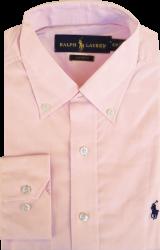 Camisa Social Polo Ralph Lauren Masculina Salmão