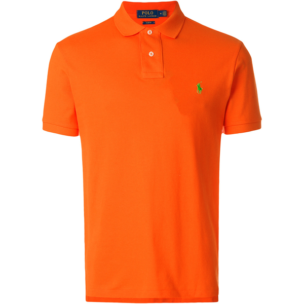 a032431ebac Camisa Polo Ralph Lauren Masculina Laranja - ESTILUXO Outlet Virtual ...
