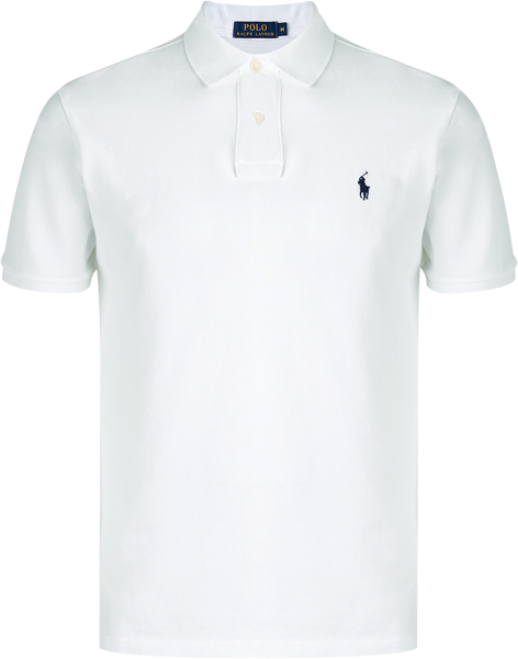 Camisa Polo Ralph Lauren Masculina Branca - ESTILUXO Outlet Virtual ... 177fb68dec2