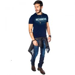 Camiseta Revanche Masculina Azul Marinho