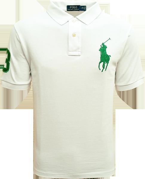 ca9ef9e8ef9e7 Camisa Polo Ralph Lauren Masculina Branca - ESTILUXO Outlet Virtual ...