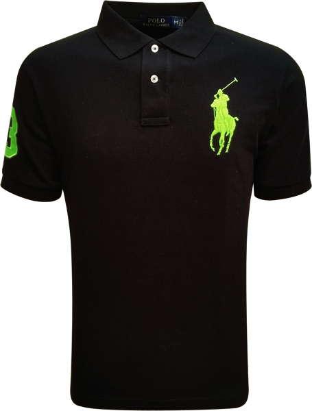 081357a538 Camisa Polo Ralph Lauren Masculina Preta - ESTILUXO Outlet Virtual ...