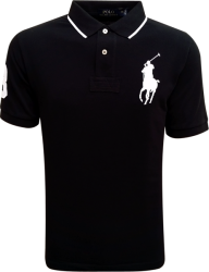 Camisa Polo Ralph Lauren Masculina Preta