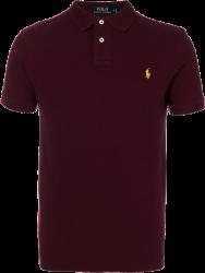 Camisa Polo Ralph Lauren Masculina Vinho