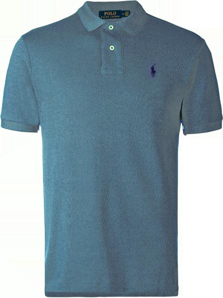 e2713e16f1862 Camisa Polo Ralph Lauren Masculina Cinza - ESTILUXO Outlet Virtual ...