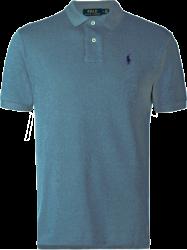 Camisa Polo Ralph Lauren Masculina Cinza