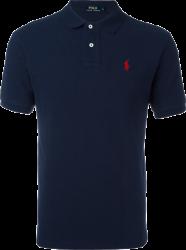 Camisa Polo Ralph Lauren Masculina Azul Marinho
