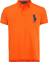 Camisa Polo Ralph Lauren Masculina Laranja