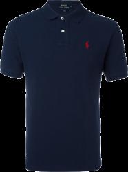 Camisa Polo Ralph Lauren Masculina Azul Escuro