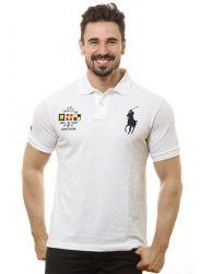 Camisa Polo Ralph Lauren Masculina Branca