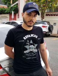 Camiseta Revanche Masculina Preta