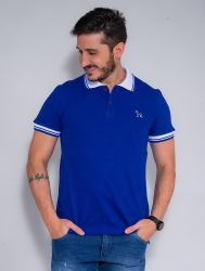 Camisa Polo Revanche Masculina Azul