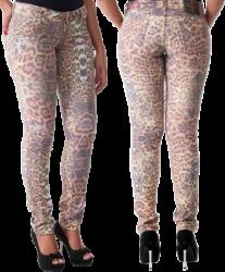 Calça Jeans Sawary Feminina Onça